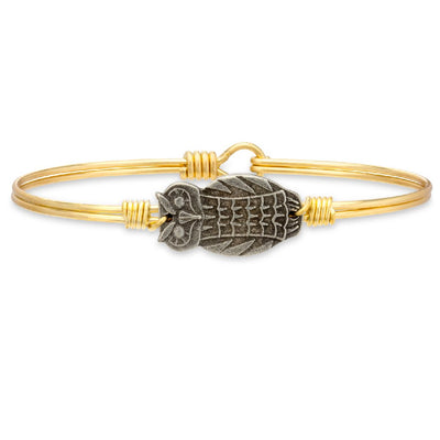 Luca and Danni Owl Bangle Bracelet