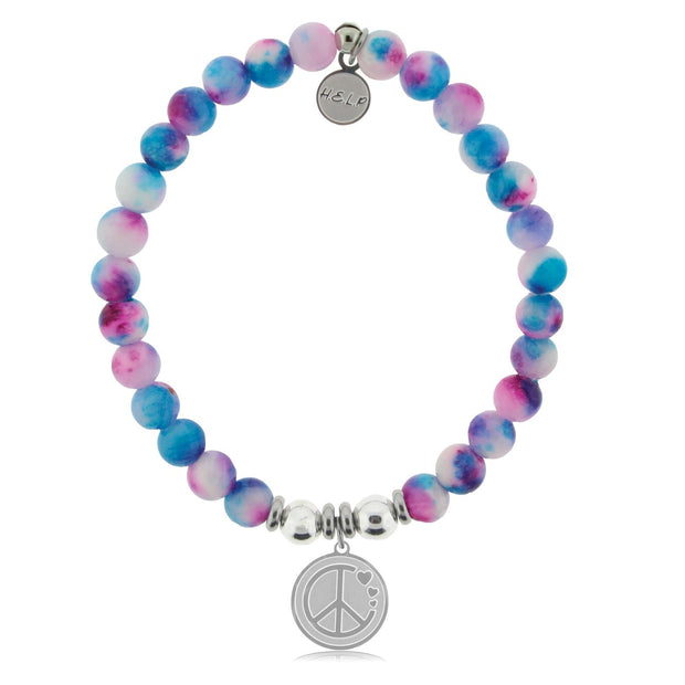T. Jazelle H.E.L.P Peace and Love Bracelet