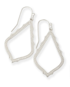 Kendra Scott Sophia Drop Earrings in Silver