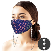 Stars Mask Chain Holder