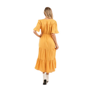 Sunflower Tiered Maxi Dress