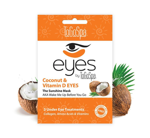 Coconut and Vitamin D Under Eye Magic Treatment - 3 Pack