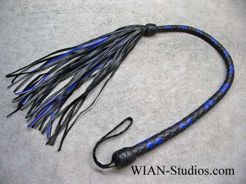 Galley Whip, Black and Blue