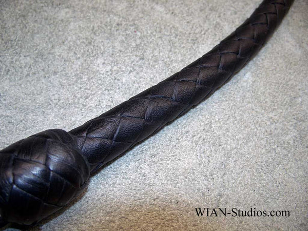 Signal Whip, All Black, 3'