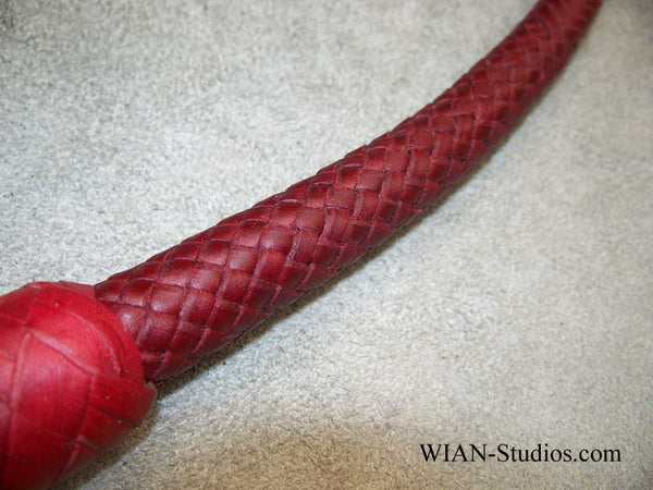 Signal Whip, All Red, 4'