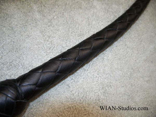 Snake Whip, All Black, 2.5'