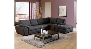 Miami Sectional Dax Black