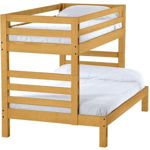 Ladder End Bunk Bed, Twin Over Full