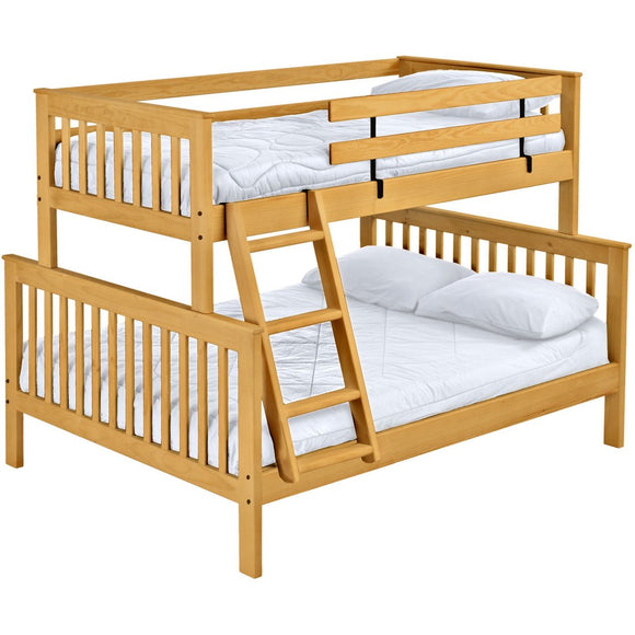 Mission Bunk Bed, Twin XL Over Queen