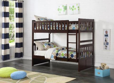 Twin Over Twin Bunk Bed