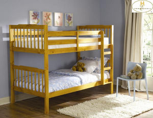 Twin Over Twin Bunk BedB27-*1