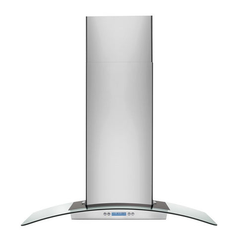 "Electrolux 36"" Glass and Stainless Canopy Wall-Mount Hood"