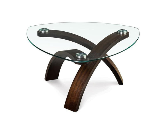 Curve Pie-Shaped Cocktail Table