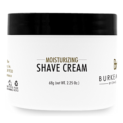MOISTURIZING SHAVE CREAM - TRAVEL - Burke Avenue by Craig the Barber