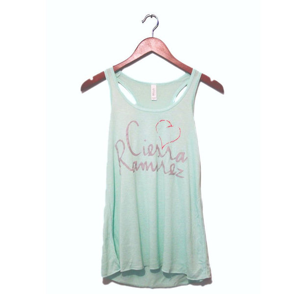 Cierra Ramirez - Signature Mint Tank Top