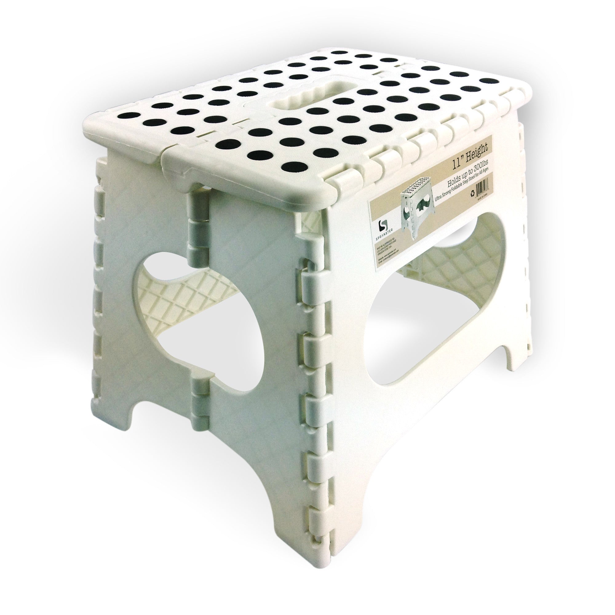 Super Awesome Super Strong Folding Step Stool White Up To 300 Evergreenethics Interior Chair Design Evergreenethicsorg