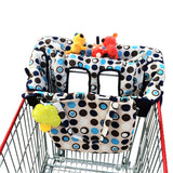 Baby Shopping Cart Cover | 2-in-1 High Chair Cover | Medium