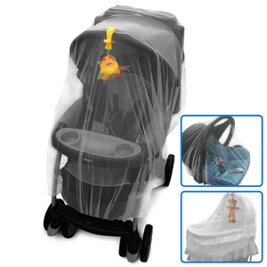 Mosquito Net For Strollers, Pack'n'Plays, Bassinets, Playpens & Cribs