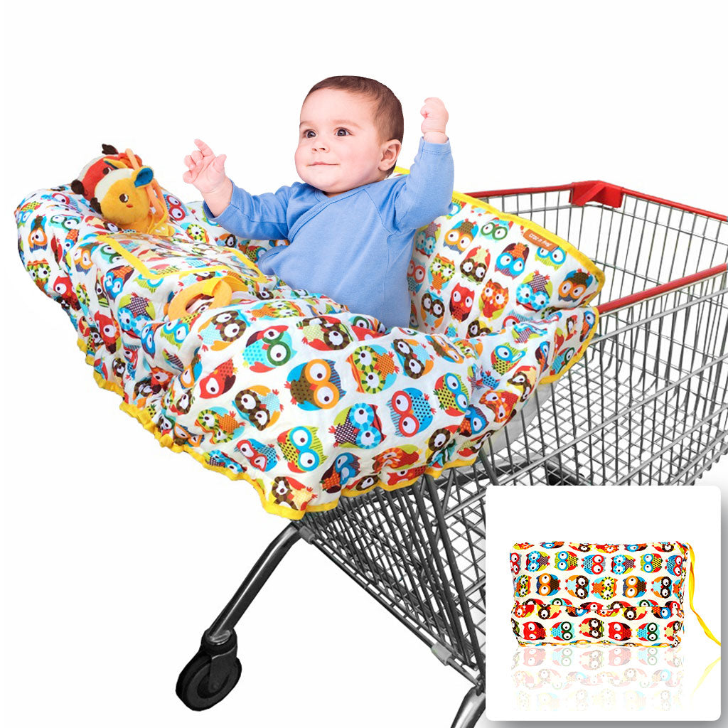 Baby Shopping Cart Cover | 2-in-1 High Chair Cover | Large ...
