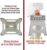 "Spranster 9"" Folding Step Stool (White)"