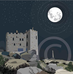 Carn Brea Winter's Night