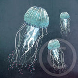 Jellyfish in the Deep Ocean