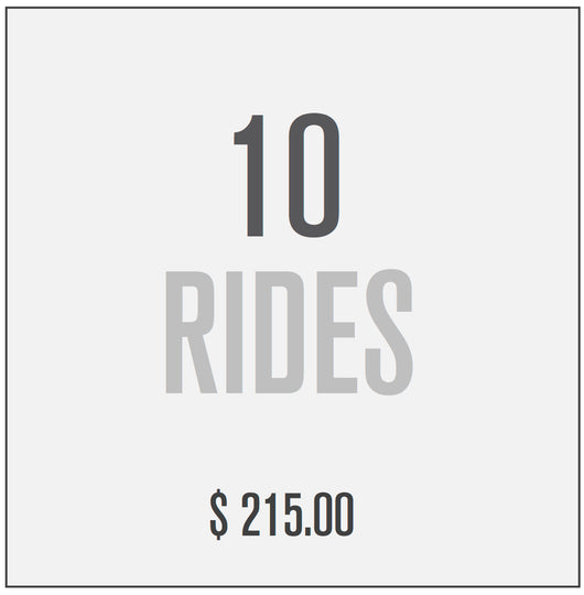 10 RIDE PACKAGE