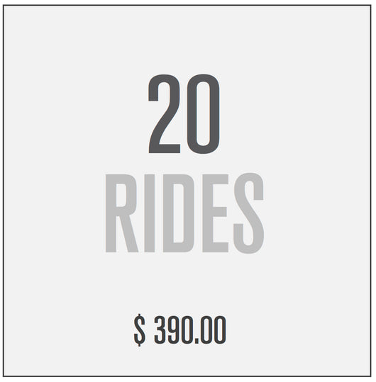 20 RIDE PACKAGE