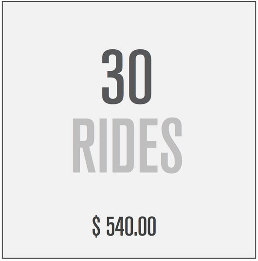 30 RIDE PACKAGE