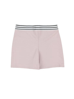 ELASTIC SHORT // CHALK PINK