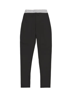 ELASTIC LEGGING // BLACK