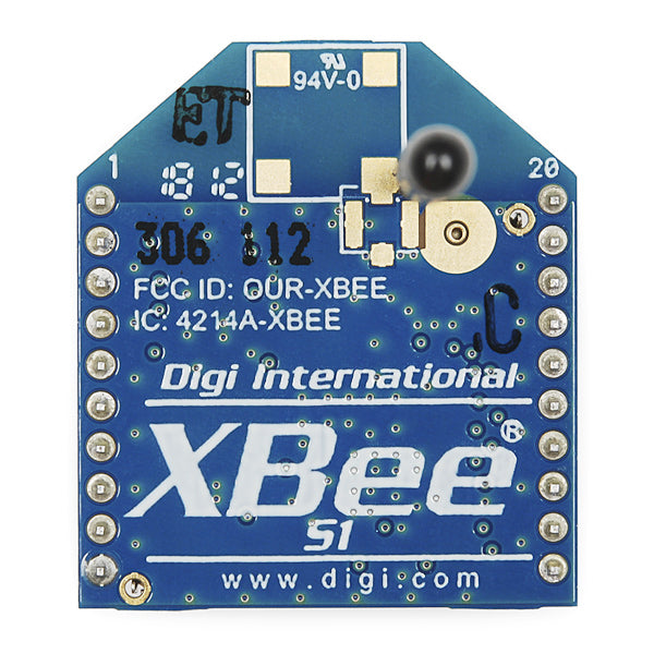 XBee 1mW con Antena tipo cable - Series 1 (802.15.4)