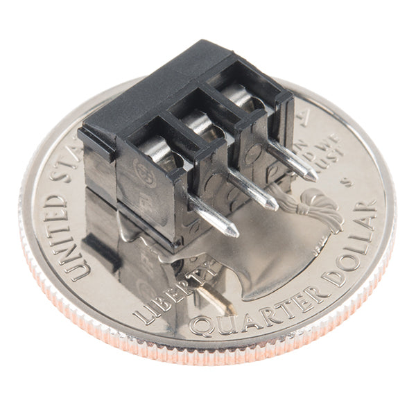 Terminal block azul 3 pines (3.5mm)