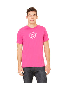 Men's JS Fine Jersey Tee in Berry