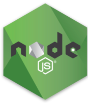 Node.js Hex Decal in Green