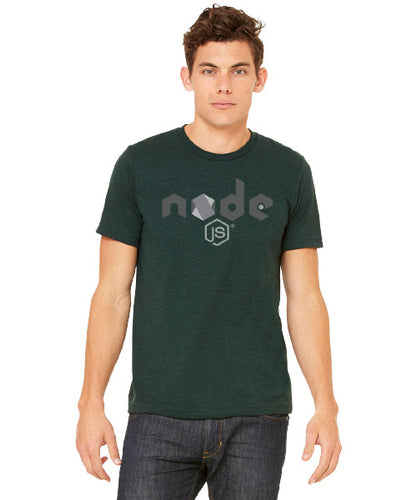 Unisex Node.js Tee in Emerald