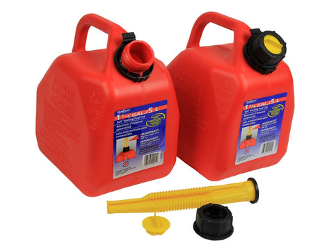 2 5 liter Scepter Fuel Cans - Frankensled Inc.