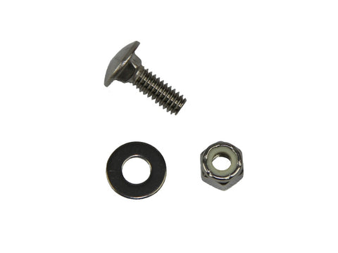 "1/4"" Stainless Steel Carriage Bolt - Polaris Hardware - Frankensled Inc."