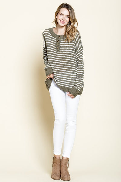 Sully Striped Sweater
