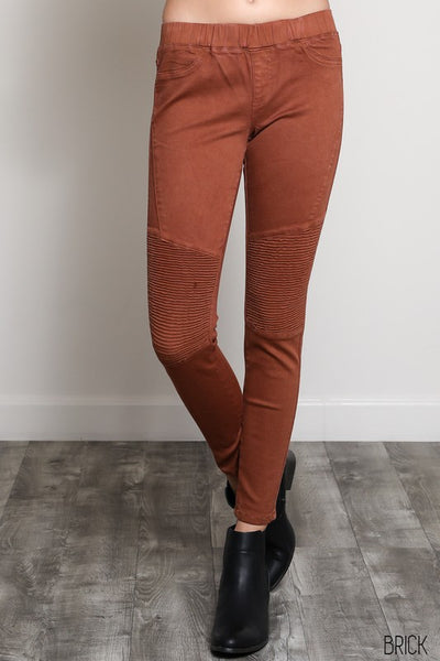 Fitted Moto Leggings