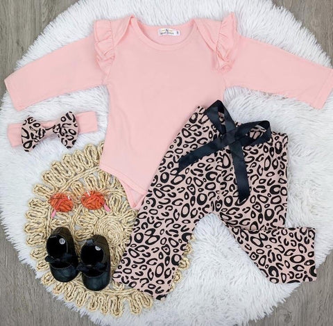 Pink Leopard 3-Piece Set
