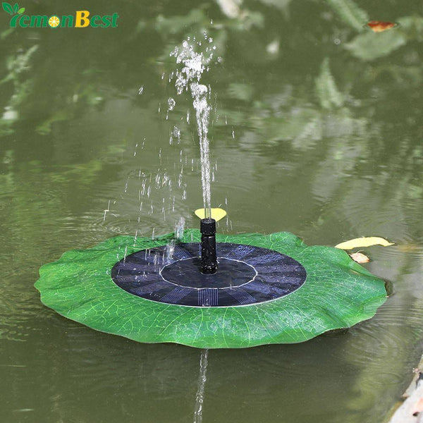 Solar Water Pump 7V Floating Fountain Waterpomp Panel Garden Plants Automatic Watering Power For Fountain Waterfall water pompje