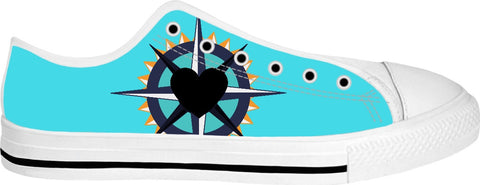 Follow Your Heart Low Tops