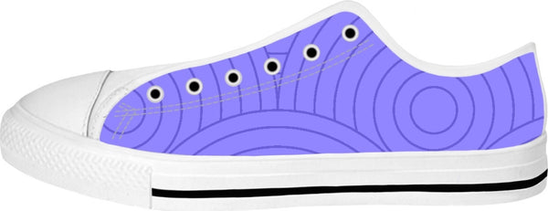 Purple Swirl Low Tops