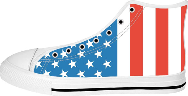 American Flag High Tops