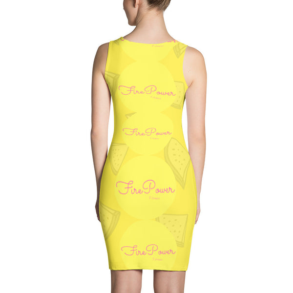 WaterMelon Fresh FIrePower Logo Dress