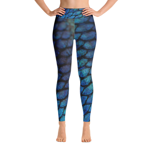 Mermaid Paddle & Yoga Leggings