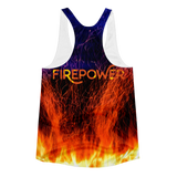 Night Fire Racerback Tank