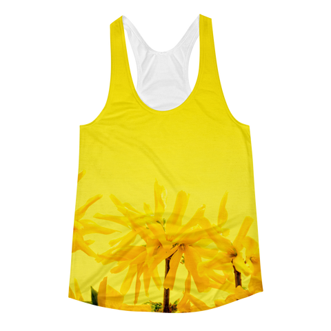 Yellow Dreams Racerback Tank
