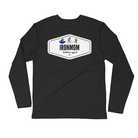 IronMom Long Sleeve Fitted Crew